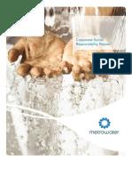Metrowater Corporate Social Responsibility Report 2009