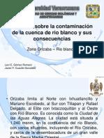 Estudios sobre la contaminación de la cuenca de rio blanco y sus consecuencias