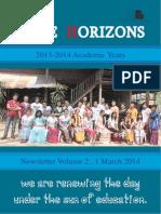 Wide Horizons Newsletter Vol 2 2014