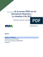 IMA.20121218 IFRS Instruments Financiers