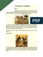 Educación Oriental Y Antigua