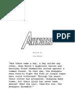 100239869 Avengers Script