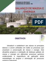 (1) Aula_Introdução Balanços Materiais