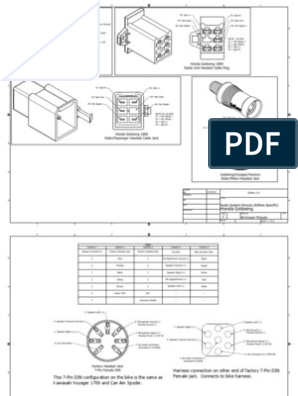 Intercom-Pinouts.pdf | Electrical Connector | Microphone on