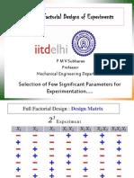 fractorial design for computers