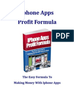 iPhone Apps Profit Formula, how to make money with apps