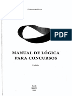 Guilherme Neves - Manual de Lógica para Concursos - Ano 2010