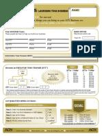 XS Launch Sheet