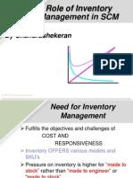 Chandrashekaran Inventory Management
