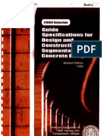 Guide and Specification Seqmental