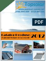 Catalog Panouri Solare Topsolar