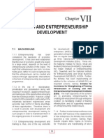 Training and Entrepreneurship Development