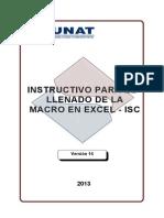 Instructivo+Para+El+Llenado+de+La+Macro+ISC+ +Diciembre+2013