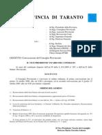 Consiglio Pro Vinci Ale Di Ta 14 Ot09