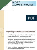 Physiologic Pharmacokinetic Model