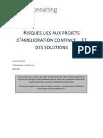 White Paper EBPS-FS-Amélioration continue 2013