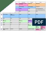 eaton 2014 parent schedule