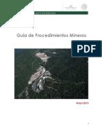 Guia de Procedimientos Mineros 0513