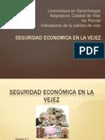 Seguridad Economica en La Vejez