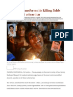 Sri Lanka Transforms Its Killing Fields Into a Tourist Attraction