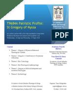 T9684A Patristic Profile