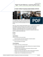 Data Center Unified Computing Implementation DCUCI