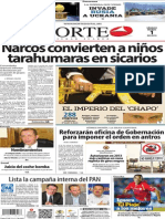 Periódico Norte edición impresa día 1 de marzo 2014