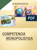 Competencia monopolística y oligopolio (1)
