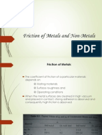 17669_Friction of Metals and Non-Metals