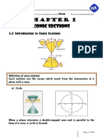 Chapter 1 Conic Sections