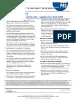 Bill Summary- Judicial Appointments Bill, 2013