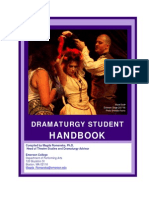 Madga Romanska's Dramaturgy Handbook for Emerson