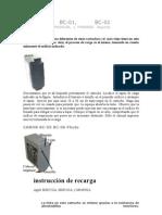 Recarga de cartuchos Impresoras Canon