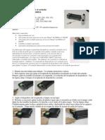 Manual de recarga de cartuchos impresoras Sharp
