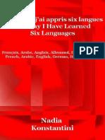 Extrait Comment j Ai Appris Six Langues Nadia Konstantini