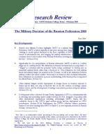 MilitaryDoctrine RF 2010
