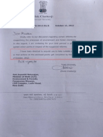 UPA PMO letter No 2