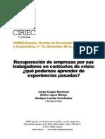 America Latina - Experiencias de Empresas Recuperadas