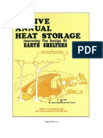 Passive Annual Heat Storage, Improving the Design of Earth Shelters (John Hait)