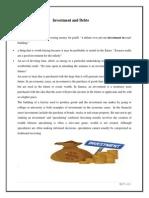 Sem 4 FA Investment and Debts
