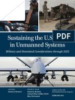 Sustaining the U.S. Lead in Unmanned Systems