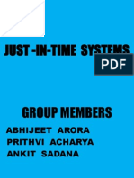 Just -In-time Systems