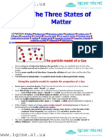 IGCSE Chemistry Note - States of Matter