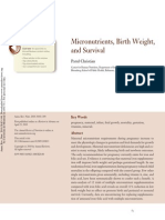 Art Micronutrients Birth Weight and Survival