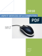 24 Input Devices of a Computer