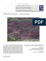 Journal of Structural Geology - Special Issue - Fault Zones