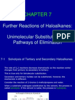 Further Reactions of Haloalkanes
