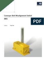 Technische Daten MRS 001 (GB)