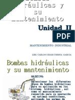 Bombas hidráulicas y su mantenimiento