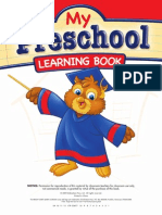 My Preschool Learning Book